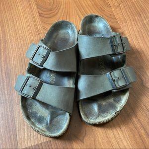 Birkenstock sandals size 37 brown